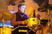 Adrian MacMillan, baterista de The High Learys, Purple Weekend Festival. 2014