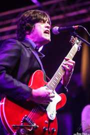 Jack Riviera, cantante y guitarrista de Jack Riviera & The R&B Sect, Purple Weekend Festival. 2014