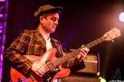 """Marcos Mascato """"Marky"""", bajista de Jack Riviera & The R&B Sect, Purple Weekend Festival. 2014"""