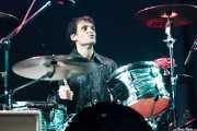 Luis Garrido, baterista de Los Eskizos, Purple Weekend Festival. 2014