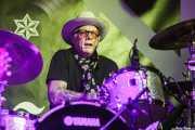 Greg Sowders, baterista de The Long Ryders, Purple Weekend Festival. 2014