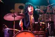 Esteban Grisey, baterista de Les Grys-Grys, Purple Weekend Festival. 2014