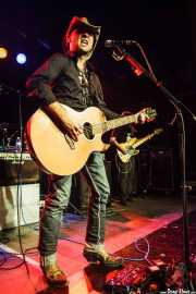 "Manuel Tío Fernández ""InBlauk"", cantante y guitarrista de InBlauk, CAEM - Sala B. 2014"