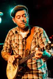 Jared McGovern, cantante, banjista y guitarrista de Urban Pioneers, CAEM - Sala B. 2014