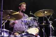 Oli Opitz, baterista de Redneck Surfers, CAEM - Sala B. 2014
