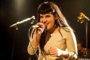 Grace Lamb, cantante de Redneck Surfers, CAEM - Sala B. 2014