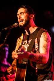 Matt Horan, guitarrista y cantante de Dead Bronco, CAEM - Sala B. 2014
