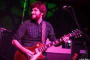 Pere Mallén, guitarrista de Julián Maeso, Kafe Antzokia. 2014