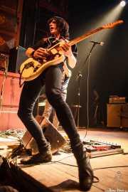 Martín Guevara, cantante y guitarrista de Cápsula, Kafe Antzokia. 2014