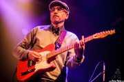 Diego Von Hustler, guitarrista de Screaming George & The Hustlers, Santana 27. 2014