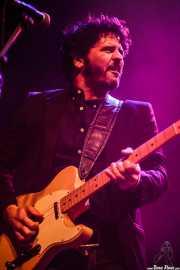 Pit Idoyaga, guitarrista y cantante de The Fakeband, Kafe Antzokia, Bilbao. 2015