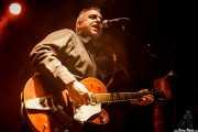 Gregg Kostelich, guitarrista de The Cynics, Sala Caracol, Madrid. 2015