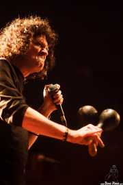 Michael Kastelic, cantante de The Cynics, Sala Caracol, Madrid. 2015