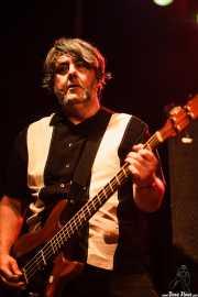 Julián Marco. bajista de Les Ton Ton Macoutes, Sala Caracol, Madrid. 2015