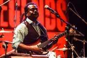 Vernon Black, guitarrista de Booker T. Jones, Sala BBK, Bilbao. 2015