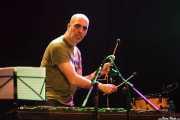 Igor Telletxea, vibrafonista y trombonista de Joseba Irazoki eta lagunak, Kafe Antzokia, Bilbao. 2015