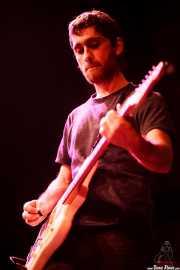 Ibai Gogortza, guitarrista de Joseba Irazoki eta lagunak, Kafe Antzokia, Bilbao. 2015