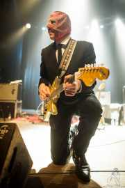 Greg Townson, guitarrista de Los Straitjackets & Deke Dickerson, Kafe Antzokia, Bilbao. 2015
