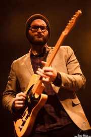 """Travis Swanson """"T-Swan"""", guitarrista de John Németh, Kafe Antzokia, Bilbao. 2015"""