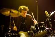 Danny Banks, baterista de John Németh, Kafe Antzokia, Bilbao. 2015