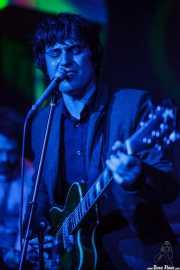 Roi Fontoira, guitarrista y cantante de The Limboos, Kafe Antzokia, Bilbao. 2015