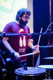 Mr. Smoky, baterista de Los Plomos, Hika Ateneo, Bilbao. 2015