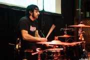 "Gonzalo Sánchez ""Chalo"", baterista de Supersiders, Fuzz in the city 2015, Bilbao. 2015"
