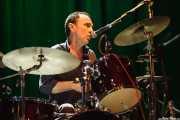 Tim O'Reagan, baterista y cantante de The Jayhawks, Kafe Antzokia, Bilbao. 2015