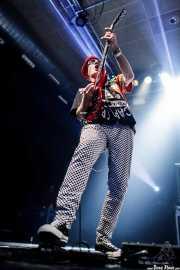 Captain Sensible, guitarrista y cantante de The Damned, Santana 27, Bilbao. 2015