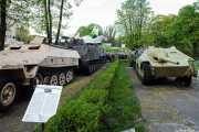 Tanques en el Museo del ejército polaco (Muzeum Wojska Polskiego) (29/04/2015)