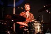 Shane Masterson, baterista de The Paul Collins Beat, Kafe Antzokia, Bilbao. 2015