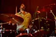 Todd Glass, baterista de The Muggs, Satélite T, Bilbao. 2015