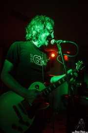 Danny Methric, cantante y guitarrista de The Muggs, Satélite T, Bilbao. 2015