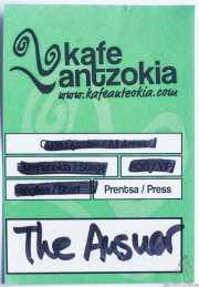 PhotoPass de The Answer, Kafe Antzokia, Bilbao. 2015