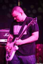 Steve Brooks, cantante y guitarrista de Torche, Kafe Antzokia, Bilbao. 2015