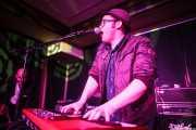 Kris Rodgers -voz y piano- y Zach Jones -guitarra y voz- de Kris Rodgers & The Dirty Gems, Kafe Antzokia, Bilbao. 2015