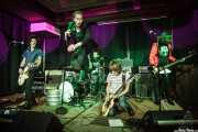 Luiyi Costa -guitarra-, Joseba Arza -batería-, Kurt Baker -voz-, Juan Irazu -guitarra- y Gonzalo Ibáñez -bajo- de Bullet Proof Lovers, Kafe Antzokia, Bilbao. 2015