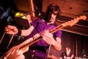 Luiyi Costa -guitarra- y Joseba Arza -batería- de Bullet Proof Lovers, Kafe Antzokia, Bilbao. 2015