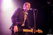 Kurt Baker, bajista de Kris Rodgers & The Dirty Gems, CC Larratxo KE, Donostia / San Sebastián. 2015