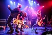 Luiyi Costa -guitarra-, Kurt Baker -voz- y Juan Irazu -guitarra- de Bullet Proof Lovers, CC Larratxo KE, Donostia / San Sebastián. 2015