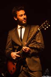 Albert Greenlight, guitarrista de The Excitements, Social Antzokia, Basauri. 2015