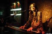 Rebeca JIménez, cantante y pianista, Cotton Club, Bilbao. 2015
