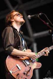 Tim Eijmaal, guitarrista de Sven Hammond, Azkena Rock Festival, Vitoria-Gasteiz. 2015