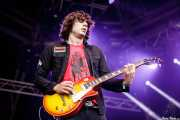 Edgey Pires, guitarrista de The Last Internationale, Azkena Rock Festival, Vitoria-Gasteiz. 2015