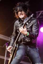Richard Bacchus, guitarrista de D Generation, Azkena Rock Festival, Vitoria-Gasteiz. 2015
