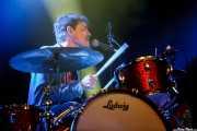 Joshua Wells, baterista de Black Mountain, Azkena Rock Festival, Vitoria-Gasteiz. 2015