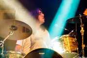 Blake Williamson, baterista de Lee Bains III & The Glory Fires, Azkena Rock Festival, Vitoria-Gasteiz. 2015