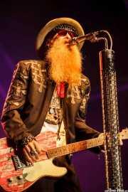Billy Gibbons, cantante y guitarrista de ZZ Top, Azkena Rock Festival, Vitoria-Gasteiz. 2015
