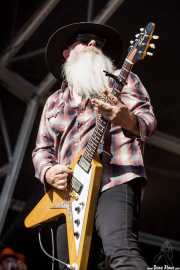 Dave Catching, guitarrista de The Eagles of Death Metal, Azkena Rock Festival, Vitoria-Gasteiz. 2015
