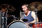 Jeff Friedl, baterista de The Eagles of Death Metal, Azkena Rock Festival, Vitoria-Gasteiz. 2015